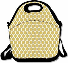 Lunch Bag Tote Boxes Bags Lunch Box Honeycomb Tote