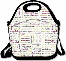 Lunch Bag Tote Boxes Bags Lunch Box Kitchen Picnic