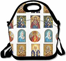 Lunch Bag Tote Boxes Bags Lunch Box Mary Handbag