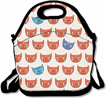 Lunch Bag Tote Boxes Bags Lunch Box Mod Cat Lunch