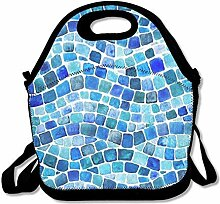 Lunch Bag Tote Boxes Bags Lunch Box Mosaic Design