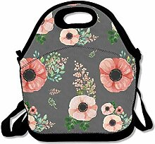 Lunch Bag Tote Boxes Bags Lunch Box Pink Picnic