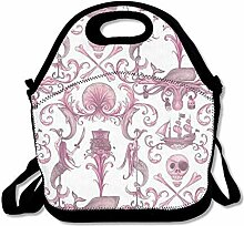 Lunch Bag Tote Boxes Bags Lunch Box Pirate Tote