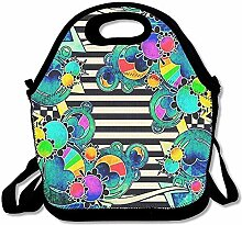 Lunch Bag Tote Boxes Bags Lunch Box Pop Art Lunch