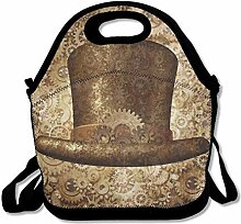 Lunch Bag Tote Boxes Bags Lunch Box Steampunk Top