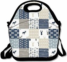 Lunch Bag Tote Boxes Bags Lunch Box Wholecloth