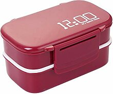 Lunch Box, 1400Ml Mikrowelle Double Layer Lunch