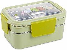 Lunch Box, 2 Tiers Aus Rostfreiem Steelbento Box