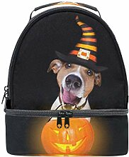Lunch Box Bag Jack Russell Terrier Hund Mit