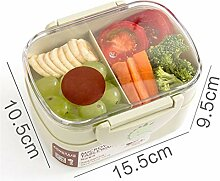 Lunch Box Mikrowelle Tragbarer Double