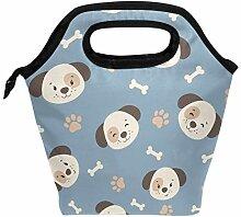 Lunch Box Tasche niedlichen Cartoon Hund mit