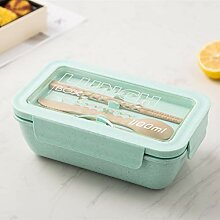 Lunch Box, Weizenstroh Lunch Box Gesundes Material
