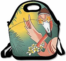 Lunch Boxes Beauty Flamingo Lunchbox Food