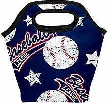 Lunch-Tasche Baseball League Stars Sports Ball