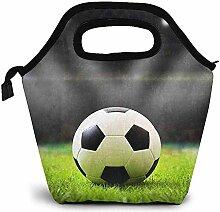 Lunch-Tasche,Fußball Auf