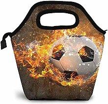 Lunch Taschen,Fußball, Der In Der