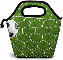 Lunch Taschen,Fußball Fußball Im Tor Kühler