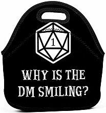 Lunch Tote Warum Ist Die Dm Smiling Dungeons