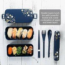 Lunchbox Bento Box Brotdose Auslaufsicher Lunchbox