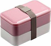 Lunchbox , Bento Box, Brotdose, mit Unterteilung,