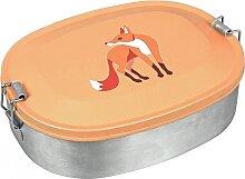 Lunchbox Fuchs Edelstahl Brotdose Fox