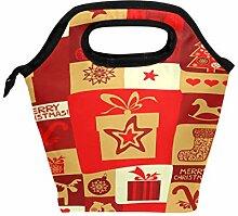 Lunchbox für Weihnachten, Urlaub, Lunchbox,