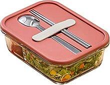 Lunchbox Glas Lunchbox Mikrowelle beheizte