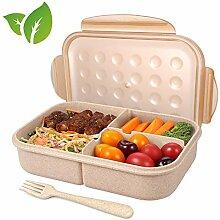 Lunchbox Meal Prep Bento Brotdose - 1 Stück - 3