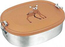 Lunchbox Rehkitz Edelstahl Brotdose Baby Deer