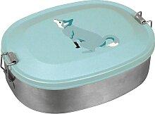 Lunchbox Wolf Edelstahl Brotdose lieber Wolf