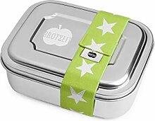 Lunchbox ZWEIER Brotdose mit Unterteilung aus