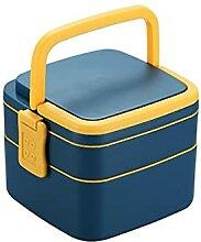Lunchboxen Doppelte Lunchbox mit Löffel