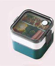 Lunchboxen Einfache Zweischicht-Lunchbox