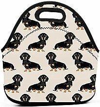 Lunchpaket-Box - Doxie Dackel Weiner Hund Haustier