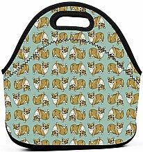 Lunchpaket,Corgi Hund süßes Muster Gourmet