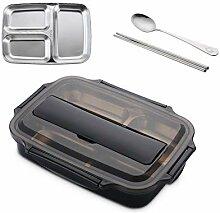 Lunchpaket Edelstahl-Brotdose Mit Löffel