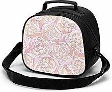 Lunchtasche für Kinder, Blumen-Hintergrund,