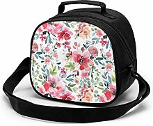 Lunchtasche für Kinder, Garten-Vibes-Muster,