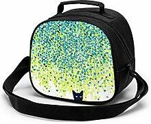 Lunchtasche für Kinder, Katze im Garten,