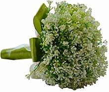 LUOEM Künstliche Hochzeitsstrauß Rosen