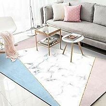 Luofanfei Teppich Wohnzimmer Schlafzimmer