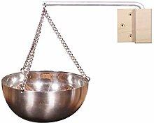 Luoji Sauna Aroma Bowl Edelstahl Aroma Schüssel