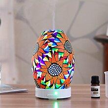 LUOTIANLANG led - lampe 100ml parfum, keramik, intelligente ultraschall luftbefeuchter, der ruhig bunt - maschine,die,* 19. mit einer