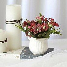 LUOXIRZZW Ölgemälde kleine Wilde Chrysantheme