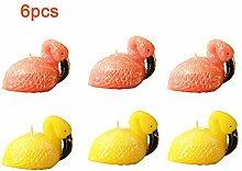 LUOYCXI Weihnachten Duftkerze Flamingo Handwerk