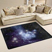 LUPIN, Motiv Starry Night Sky Fußmatte, Teppich,