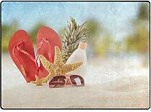 Lupine/Sommer Seashell Ocean Sunshine Star Stroh