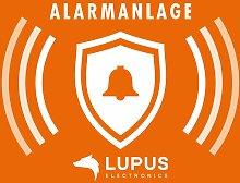 Lupus Aufkleber Alarmanlage