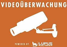 Lupus Electronics 10862 Aufkleber: Achtung