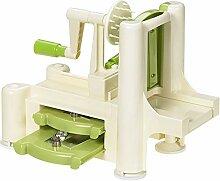 Lurch 10203 Spiralschneider Spirali grün / creme